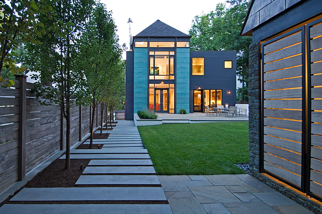 Quincy Street Residence, Custom home by Peterson and Collins Builders