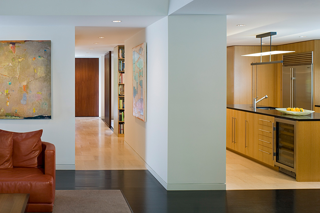 Interior, Quincy Street Residence, Custom home by Peterson and Collins Builders