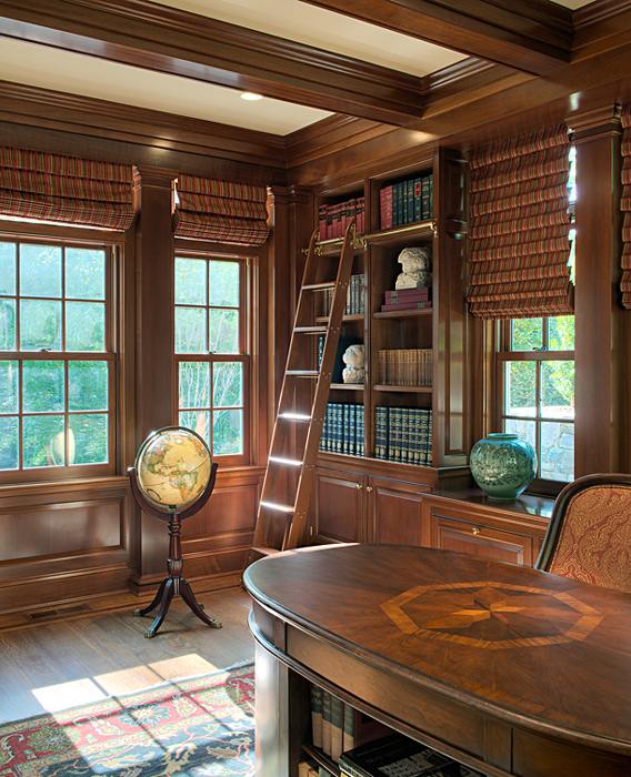 Wesley Heights Residence Library