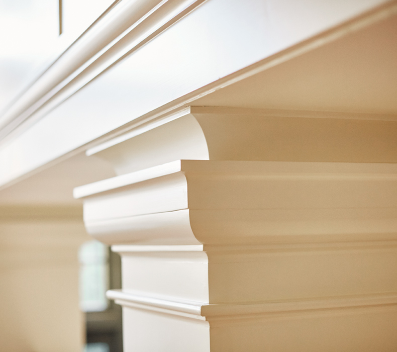 Custom Millwork, Halcyon House Restoration excuted by Peterson & Collins