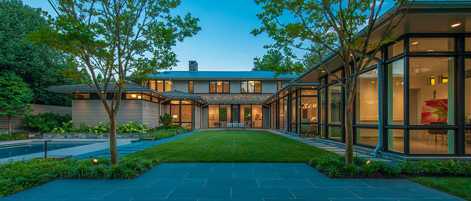 Edgemoor Residence, Custom Home by Peterson and Collins Builders