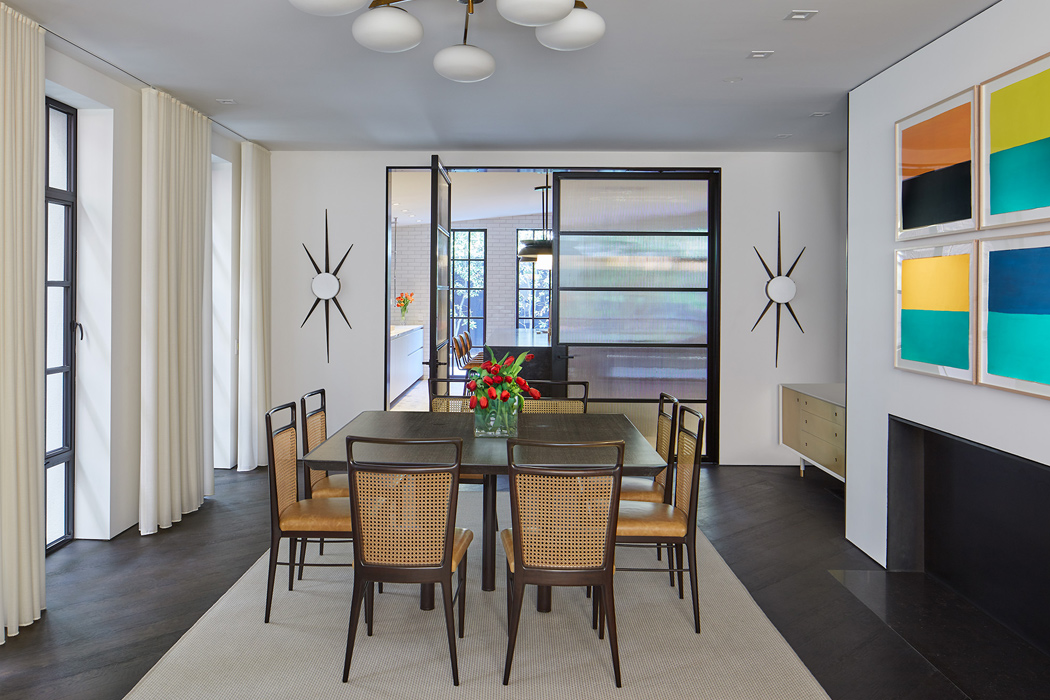 Dining Room, Cox Row Residence, Peterson + Collins Builders