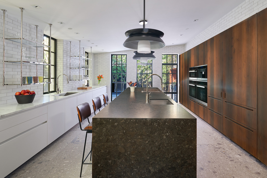 Modern kitchen, Cox Row Residence, Peterson + Collins Builders
