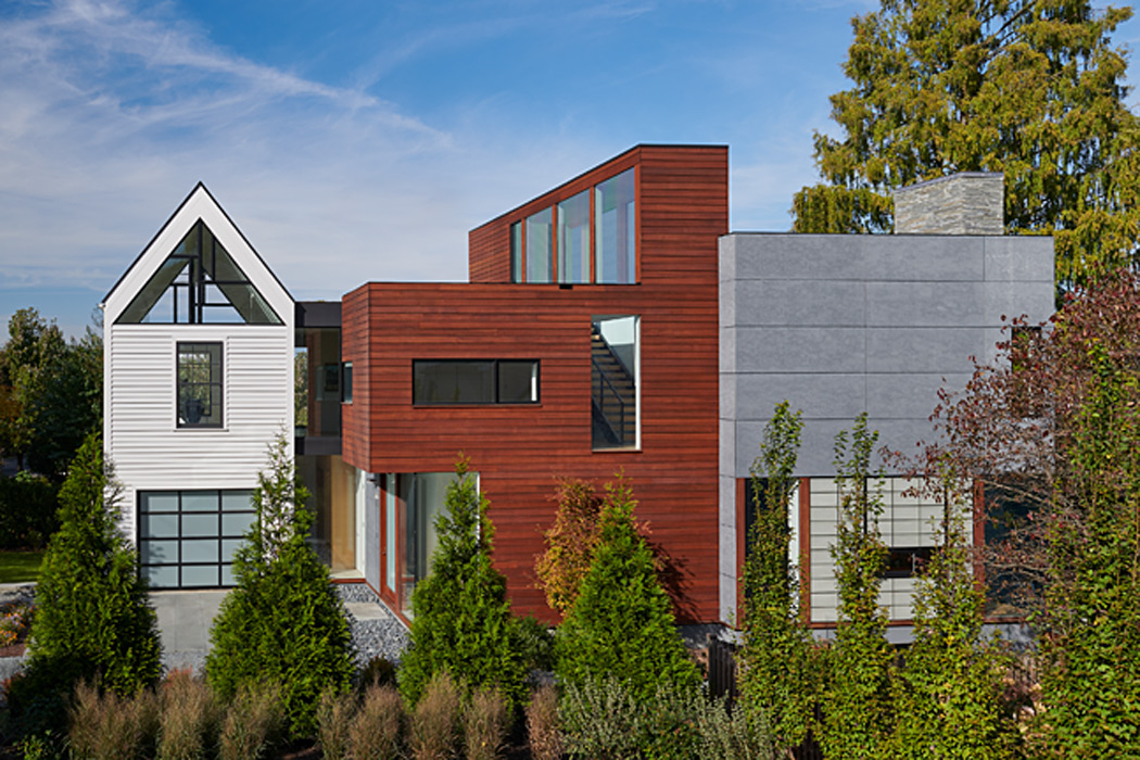 Modern Chevy Chase Residence by Peterson and Collins Builders