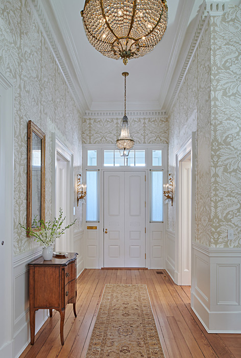 Entry hall renovation