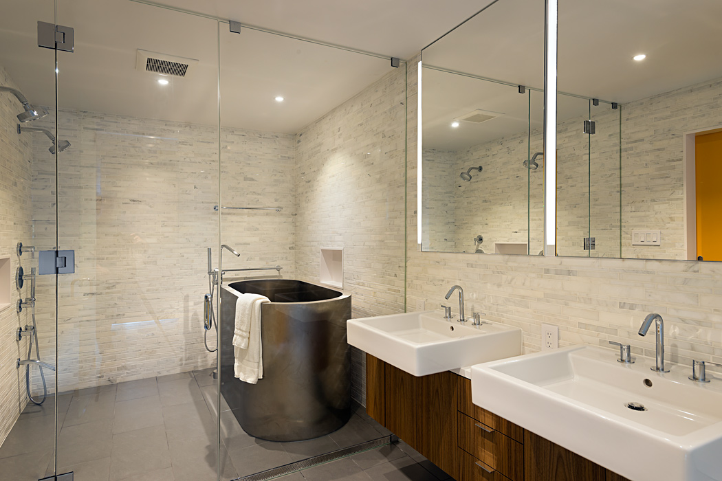 Master Bath Tile work and Soaking tub