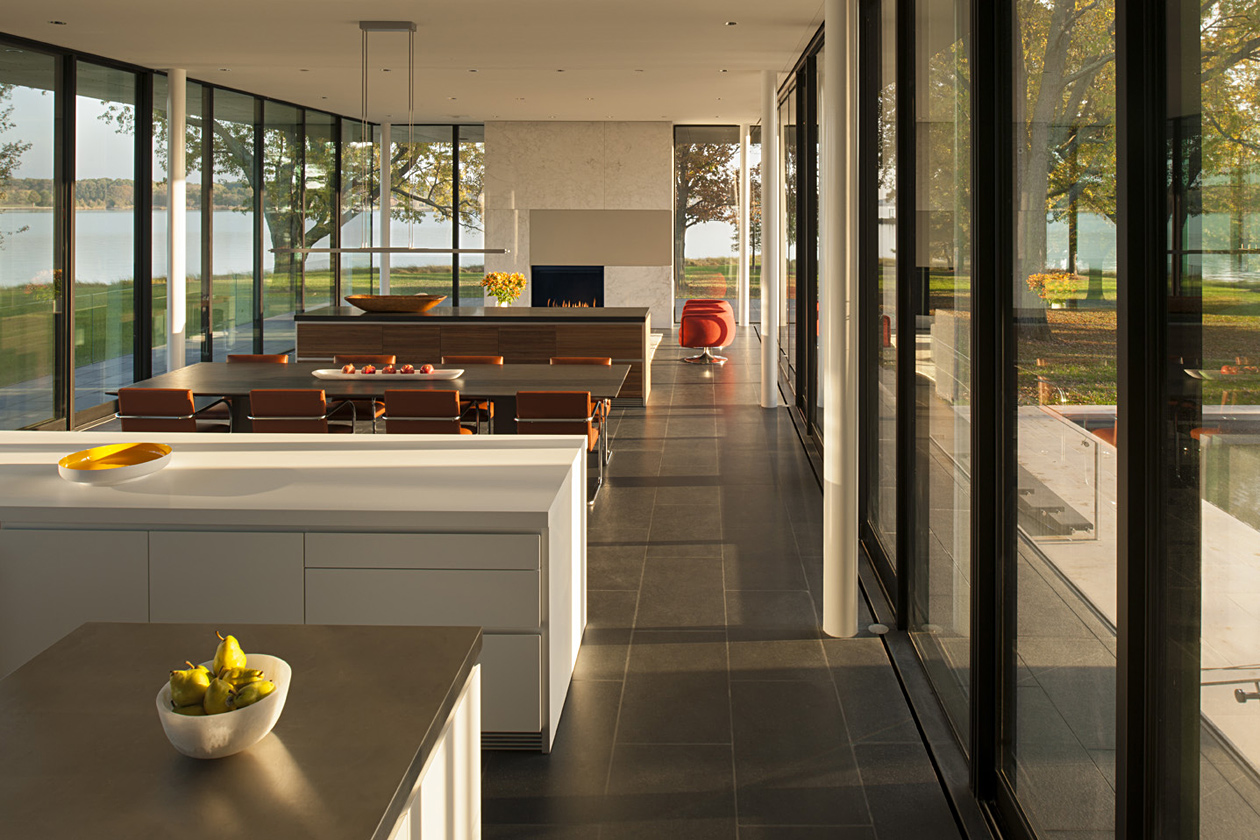 Tred Avon River House, interior
