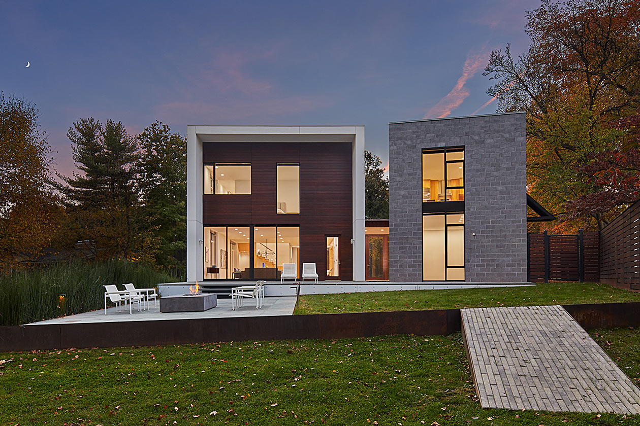 New custom built home by Peterson and Collins