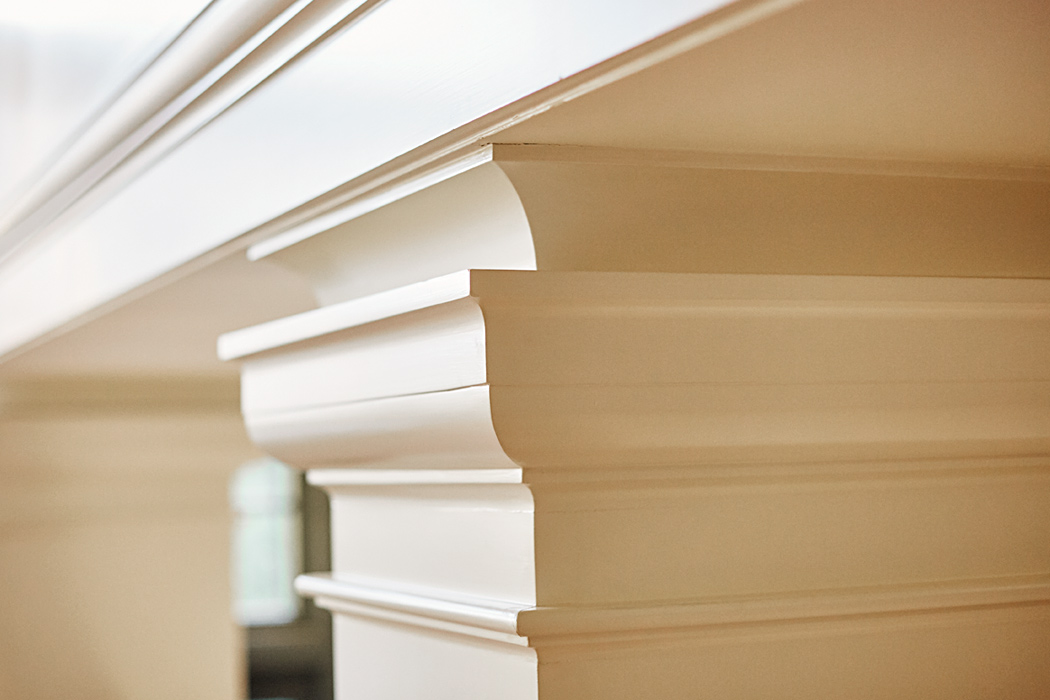 Custom Millwork, column and capital