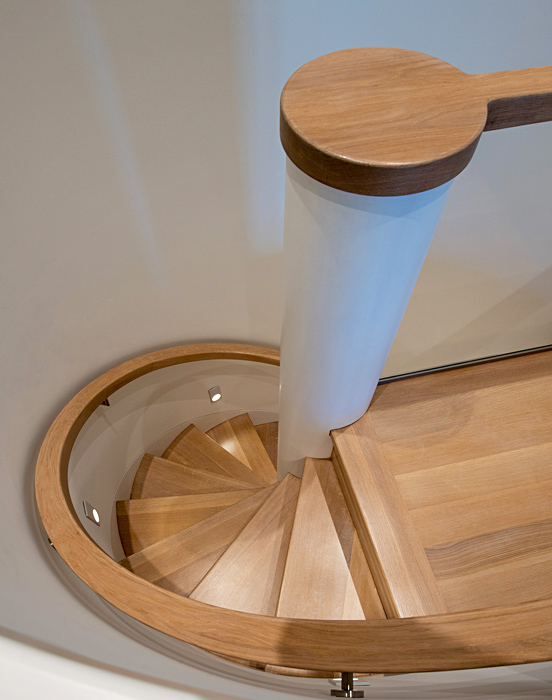 Custom Millwork, contemporary staircase