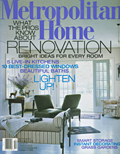 Metropolitan Home Magazine