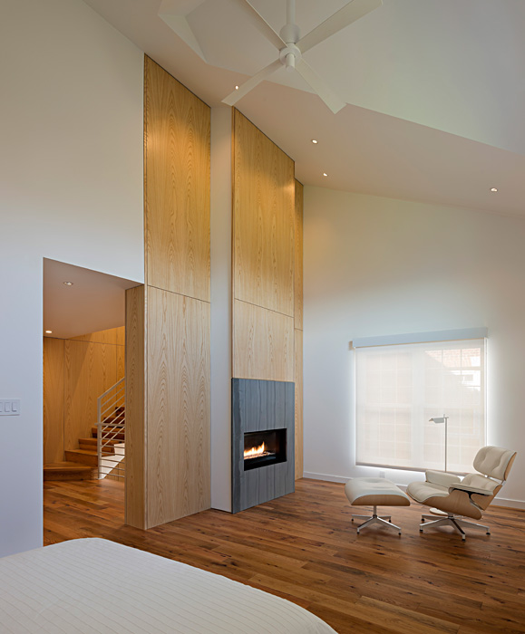 Alexandria Riverwalk Custom Home Fireplace
