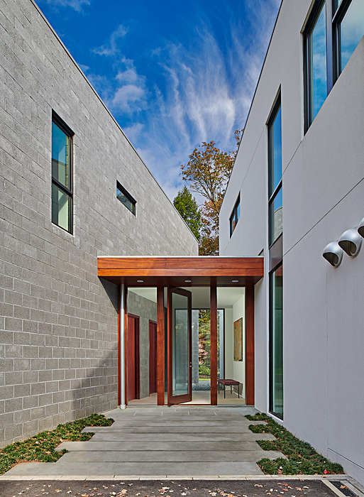 Levell Drive Residence Entry