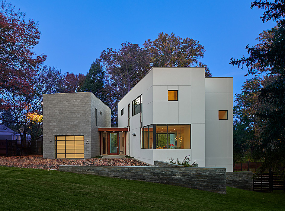 Levell Drive Residence Exterior Architecture